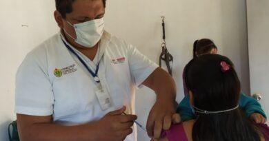 Reportan 91% de avance en vacunación contra influenza en Veracruz