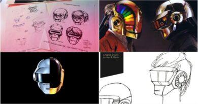 Así se diseñaron los cascos de robot de Daft Punk, el dúo que este lunes anunció su retiro