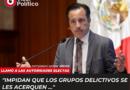Pide Cuitláhuac García a municipes electos evitar que se les infiltren grupos del crimen