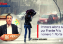 Informa gobernador Cuitláhuac primera Alerta Gris por Frente Frío número 1 Norte